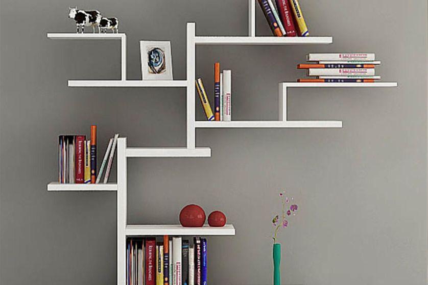 Menempatkan rak Buku di kamar